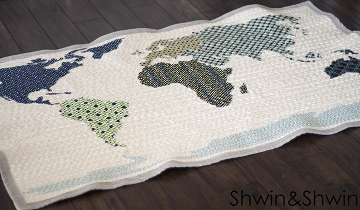 World map quilt home sewn series shwin and shwin world quilt pattern free pattern shwinshwin gumiabroncs Image collections
