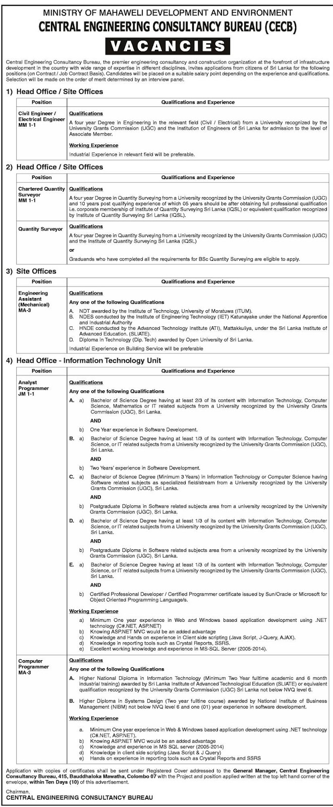 CECB Jobs  Government JobsGovernment GazetteGovernment Exam HelpGeneral Knowledge