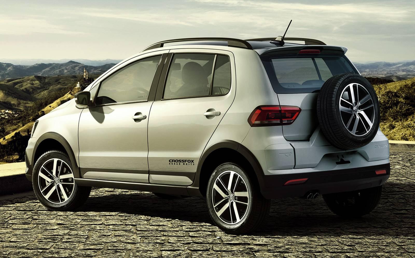 Volkswagen CrossFox 2017 Urban White: fotos e detalhes ...