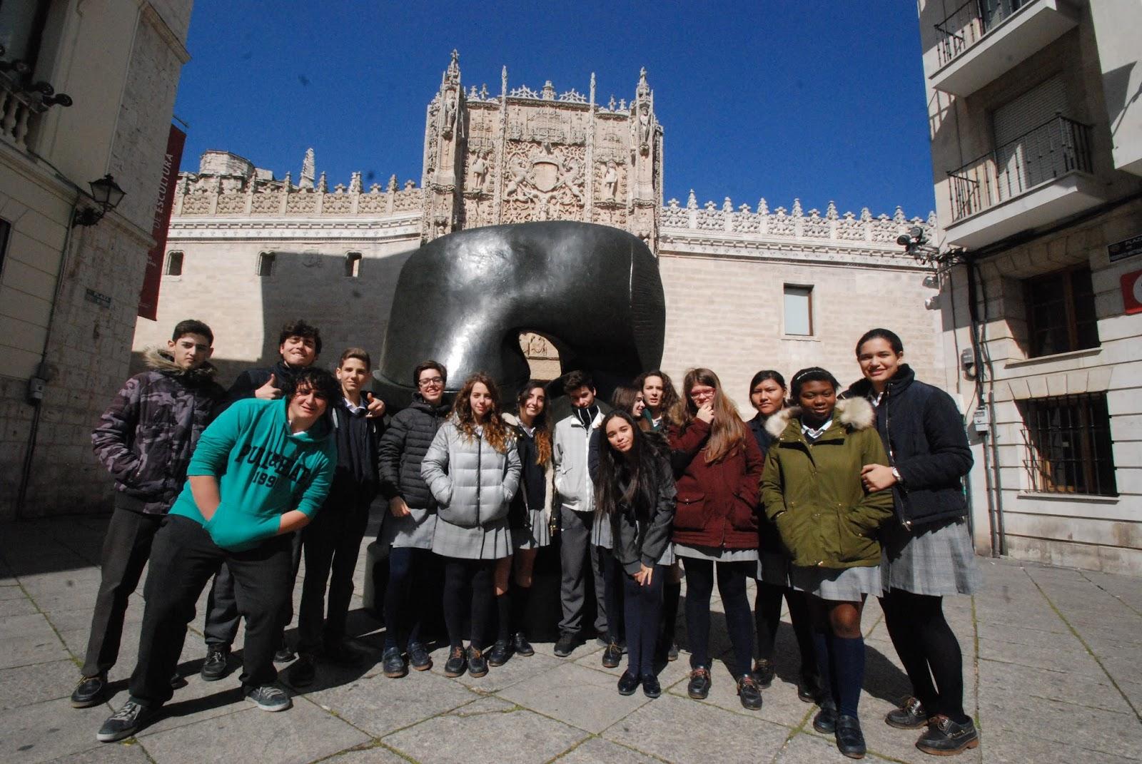 Agustinas Valladolid - 2017 - ESO 4 - Exposición Henry Moore 3