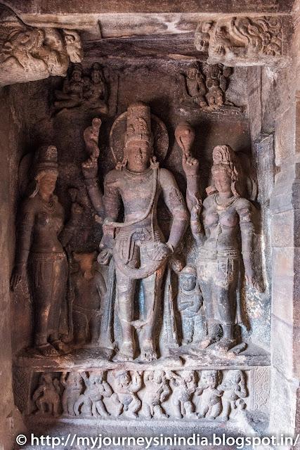 Badami Cave Lord Shiva