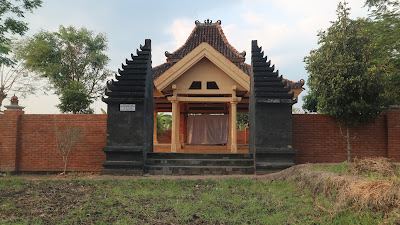 Petilasan Prabu Angling Dharma di Desa Wotangare, Kecamatan Kalitidu Bojonegoro, Minggu (02/09/2018).