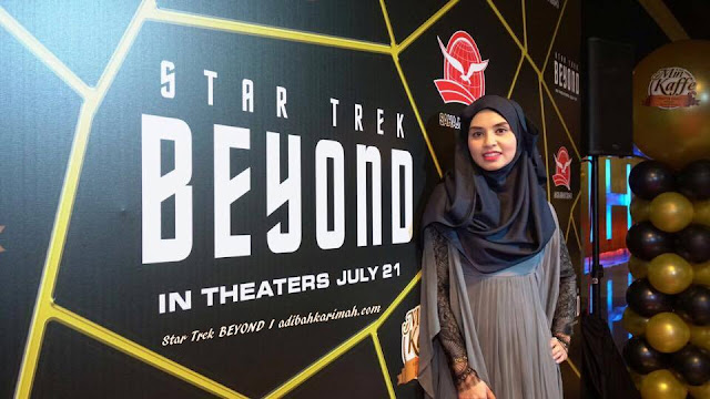 Adibah di Star Trek Beyond vs Min Kaffe preview
