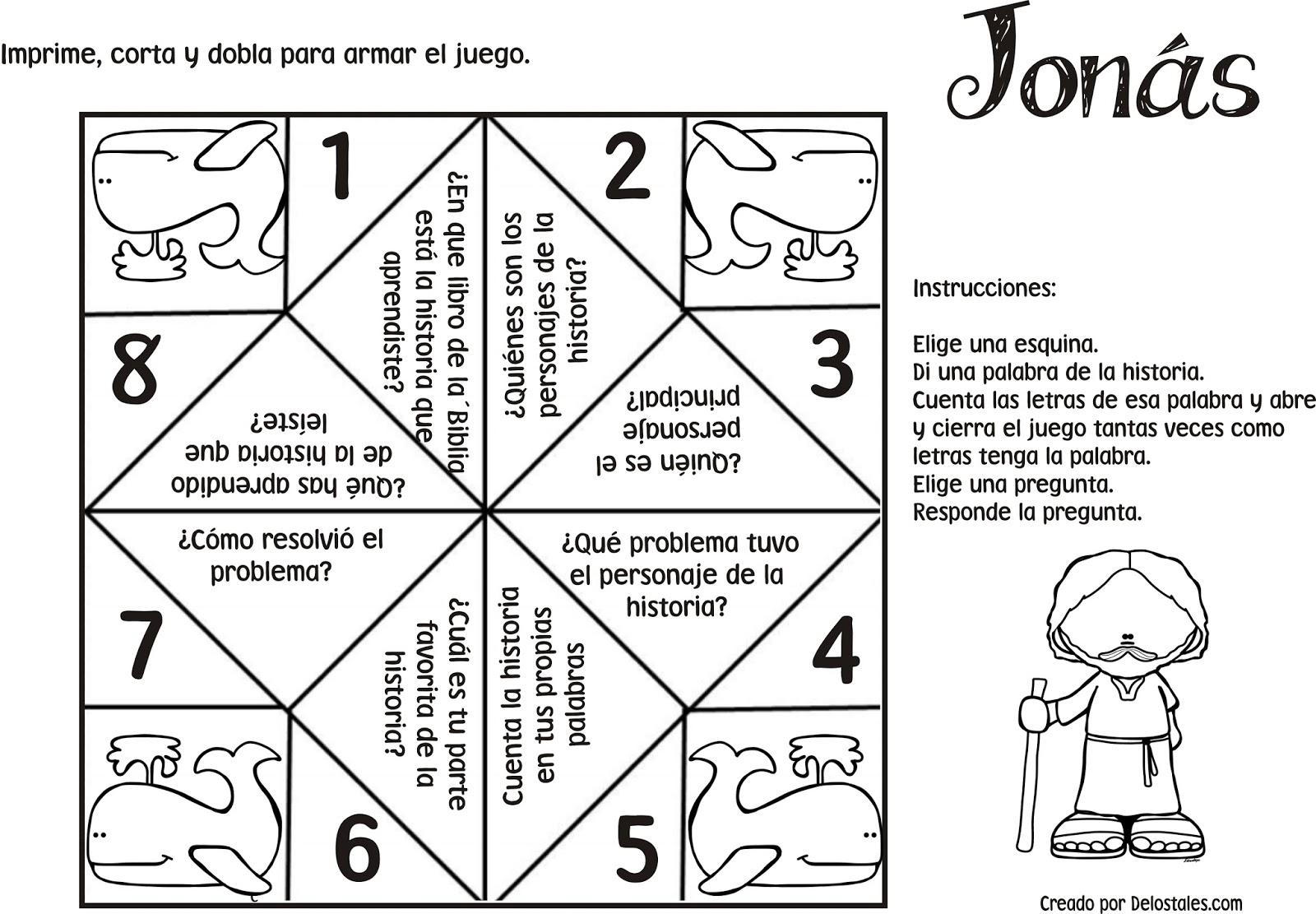 Excepcional Jonah Para Colorear Las Actividades Bandera - Ideas ...