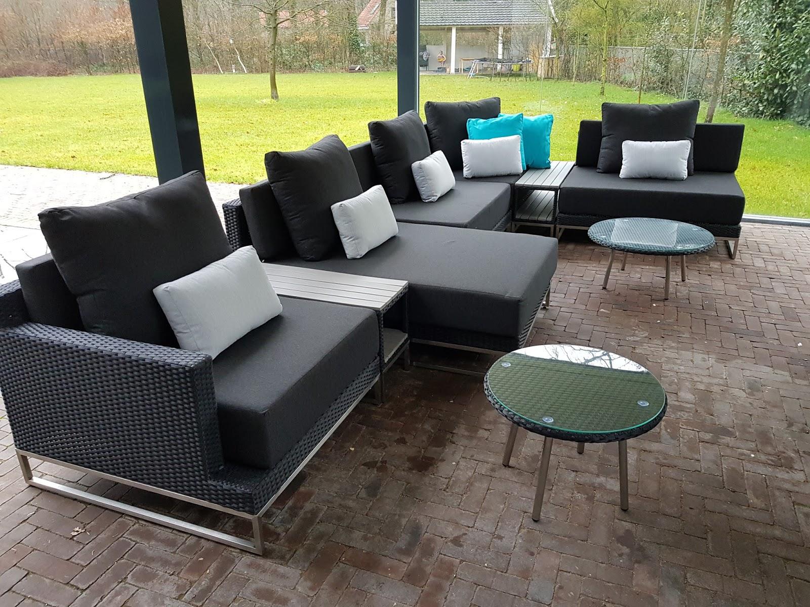Design Lounge Tuin Bank.Arbrini Design Tuinmeubelen Maart 2018