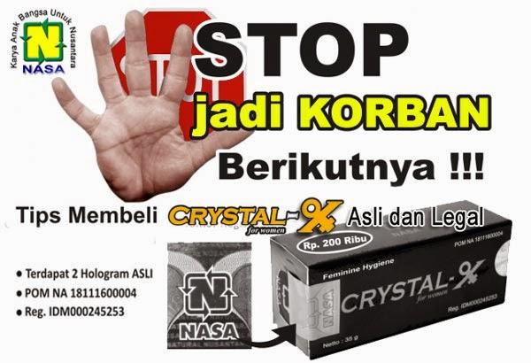 jual crystal x asli yogyakarta agen resmi pt natural nusantara