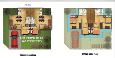 Anica Townhouse Zone 2 Houses in Lancaster New City Floor Plan