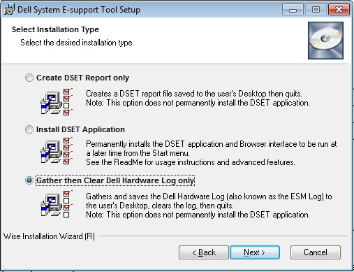 詠鉌のIT: Introduction to Dell System E-Support Tool (DSET)