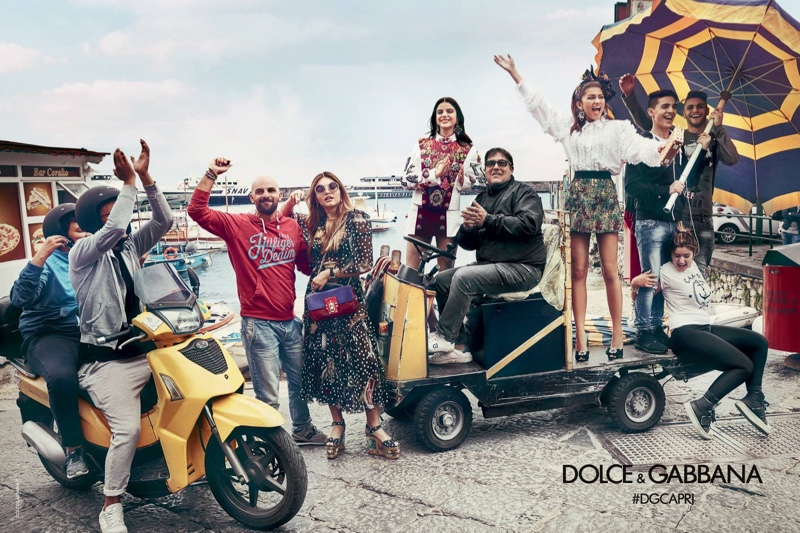 Zendaya & Thylane Blondeau for Dolce & Gabbana's Spring 2017 Campaign