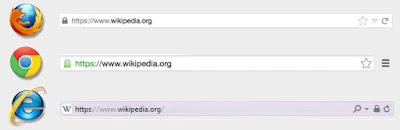 ssl https padlock in web browsers