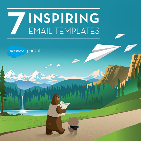 Tigh Loughhead in 7 Inspiring Email Templates Whitepaper from Pardot