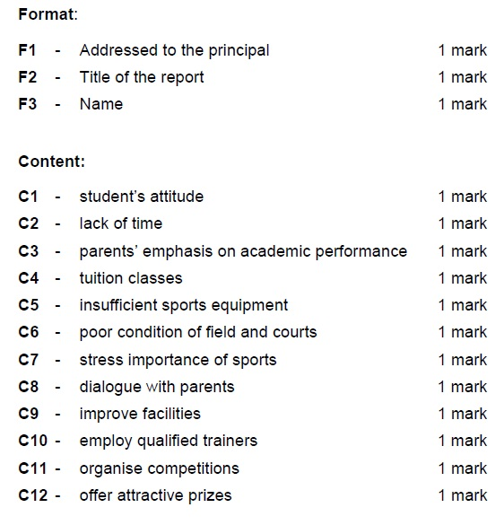 Difference between essay format and report format