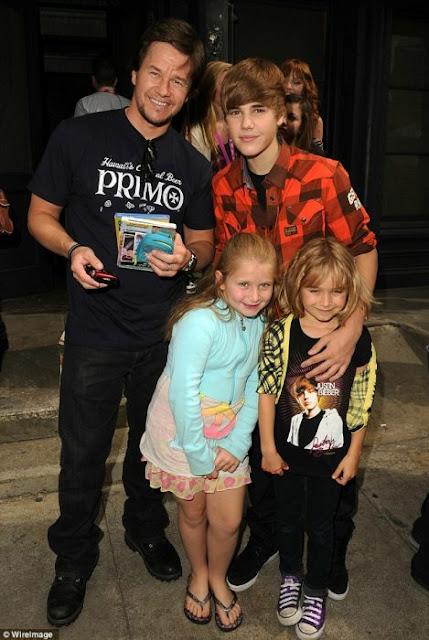 Mark Wahlberg volvería a prisión si su hija saliera con Justin Bieber