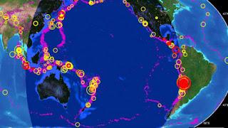 ALERTAS: se han registrado 6 sismos en mexico en las ultimas horas.