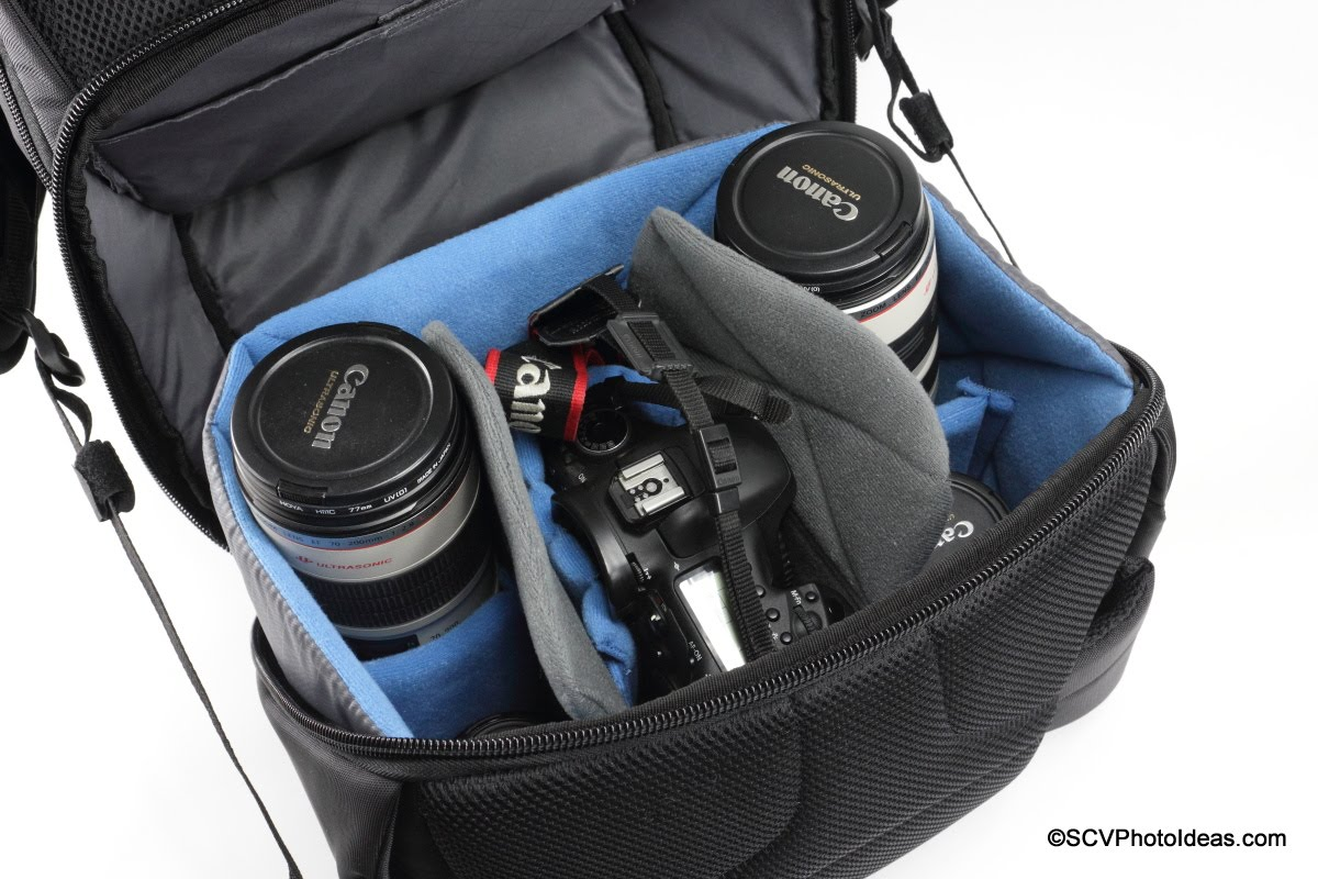 Case Logic DSB-103 main compartment w/ gripped large size camera II