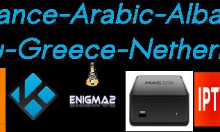 OSN Arabic Kino Albania Exyu Greece NL France TF1