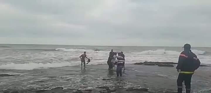 محاولة انتحار بشاطئ الوطية