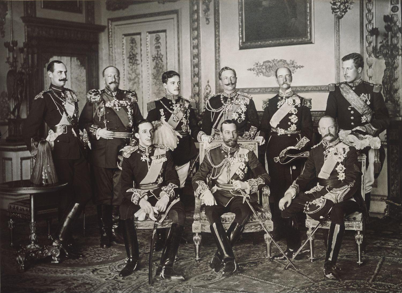 CONVERSANDO ALEGREMENTE SOBRE A HISTÓRIA.: Os Reis do início do XX, do II  Milênio. Todos nascidos no século XIX.