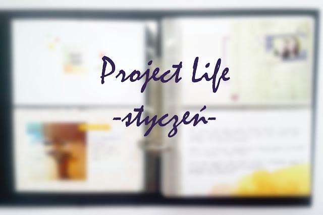 Project Life początki + styczeń