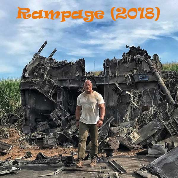 Download Film Rampage (2018) BluRay Subtitle Indonesia