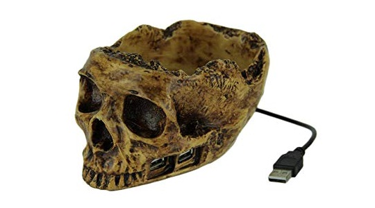 Princess International usb skull hub