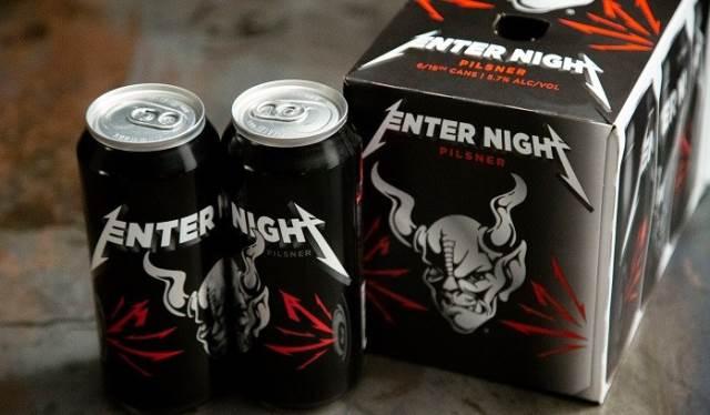 METALLICA: Διαθέσιμη στην αγορά η μπύρα Enter Night