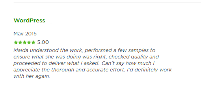 upwork profile review