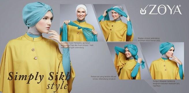 Model Jilbab Untuk Lomba Senam