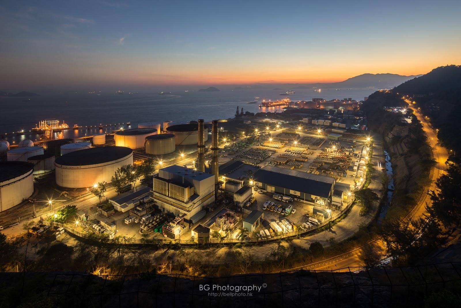 [香港] 攝遊青衣南 - 工場夜景 - blog.bellphoto.hk