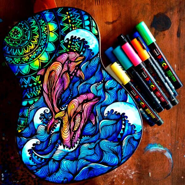 Salty Hippie ilustración