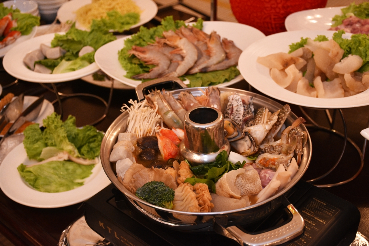 Chinese New Year Steamboat Food