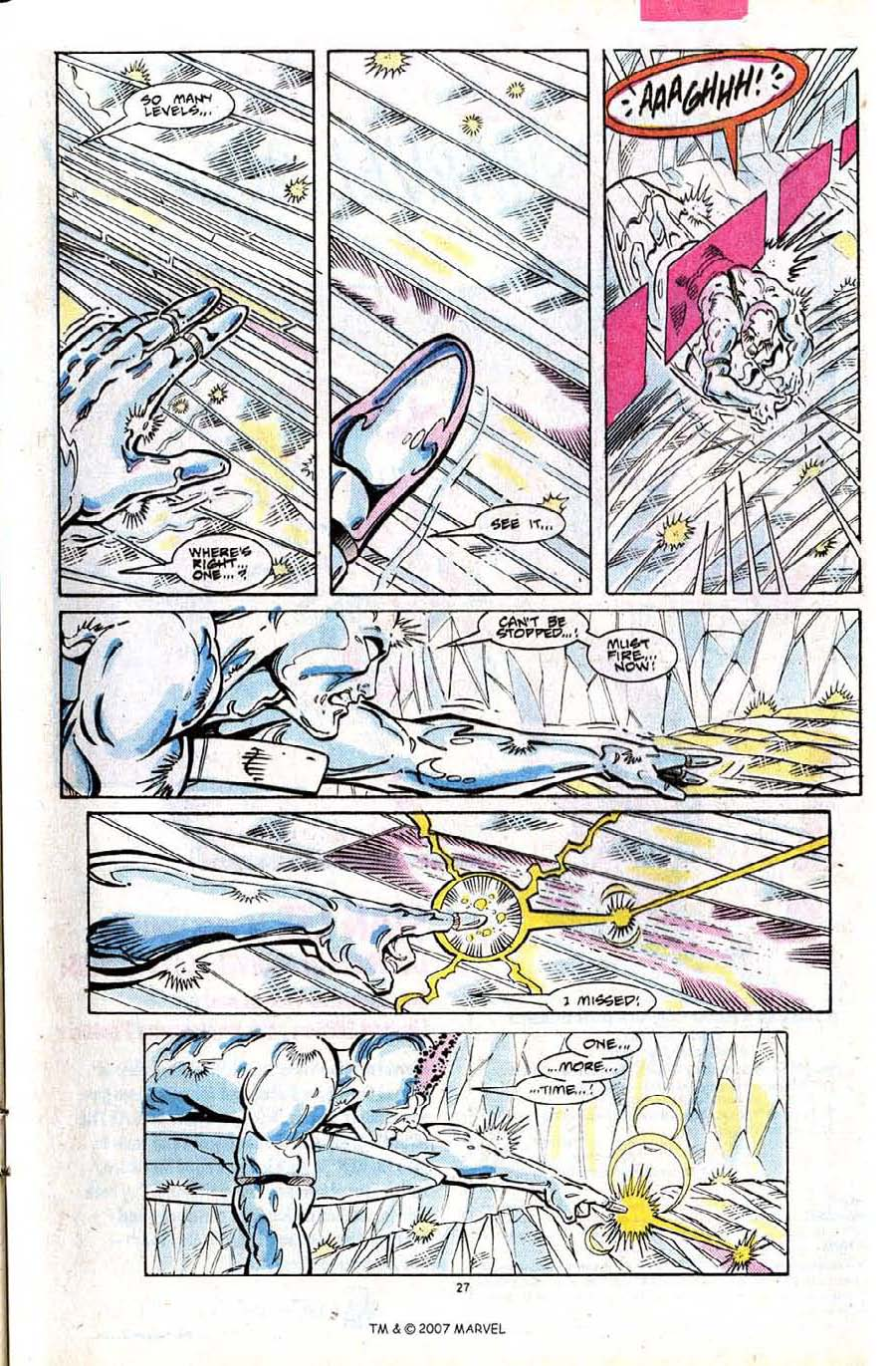 Read online Silver Surfer (1987) comic -  Issue #24 - 29