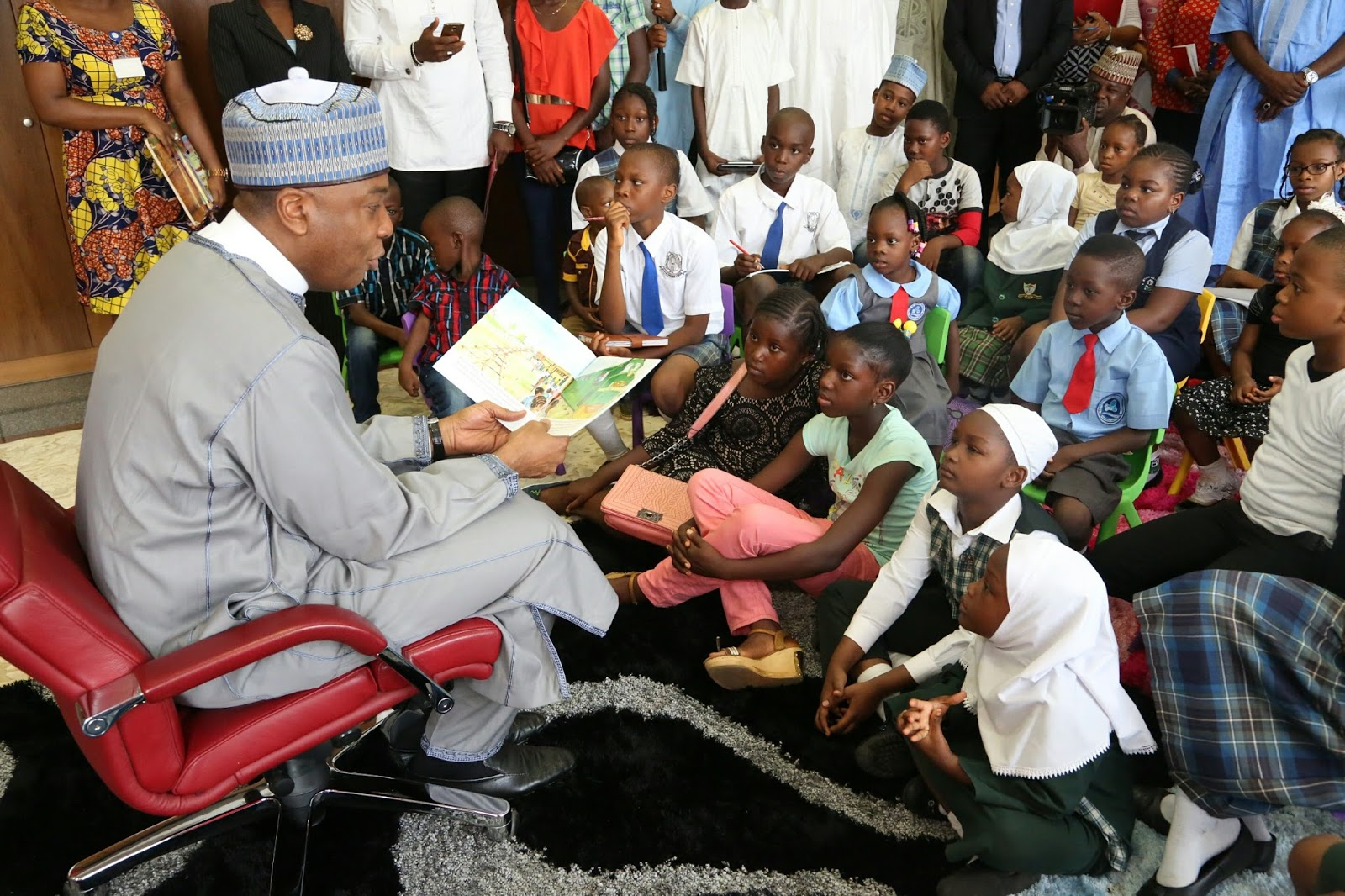 Image result for saraki childrens day