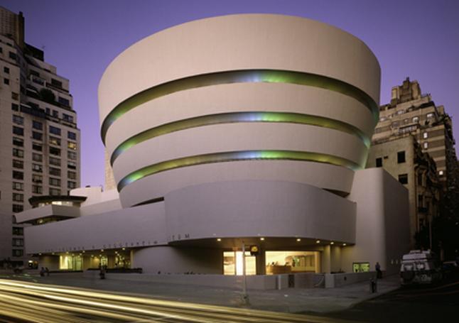 Storia dell 39 arte moderna e contemporanea 1959 apre il for New york architettura contemporanea