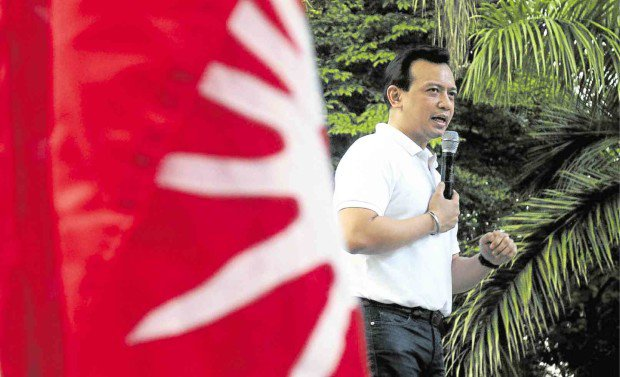 Sen. Trillanes Talking 16 times to Chinese Government VIDEO