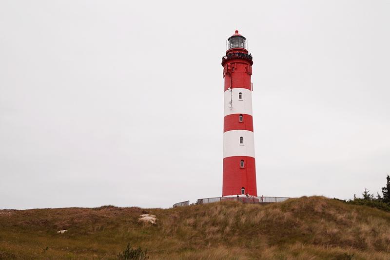 Amrum Leuchtturm besuchen im Juli, Urlaub auf der Nordseeinsel Amrum