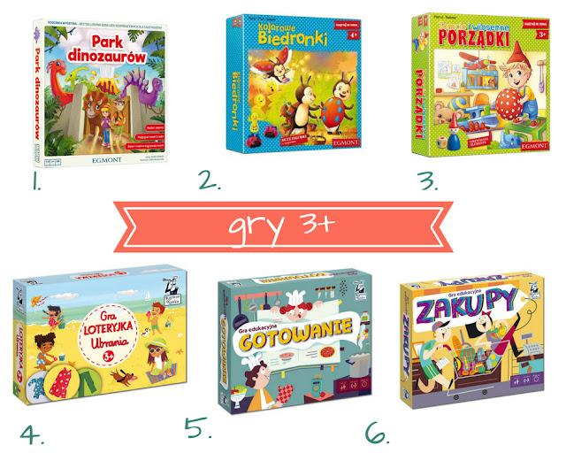 Najciekawsze gry dla 3-latka - planszówki na Dzień Dziecka (3+)
