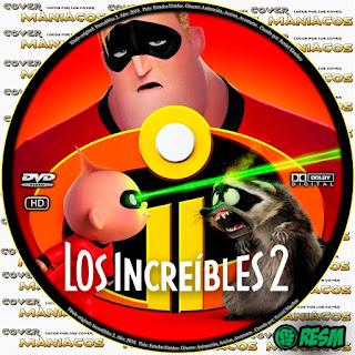 GALLETA LOS INCREIBLES 2 - THE INCREDIBLES 2 -2018