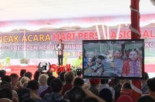 Presiden Jokowi dan Nyonya Hadiri HPN Ke-72 di Ambon
