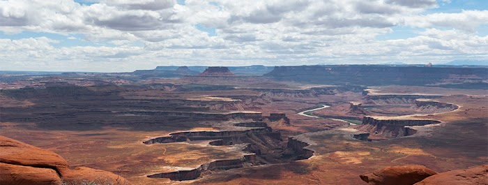 Amazingexplore of Island in the Sky, A view from Green River Overlook