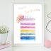 ↣ FREE Watercolor - Cake Happy Birth Watercolor Art