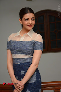 Actress Kajal Agarwal Latest Stills at Khaidi No 150 Movie Interview  0016.JPG