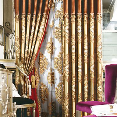 Cortinas Michelle Luxury delino y algodón