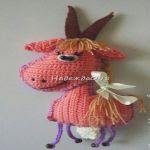 Patron gratis cabra amigurumi | Free amigurumi pattern goat