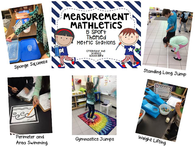 Metric Measurement Mathletic Stations