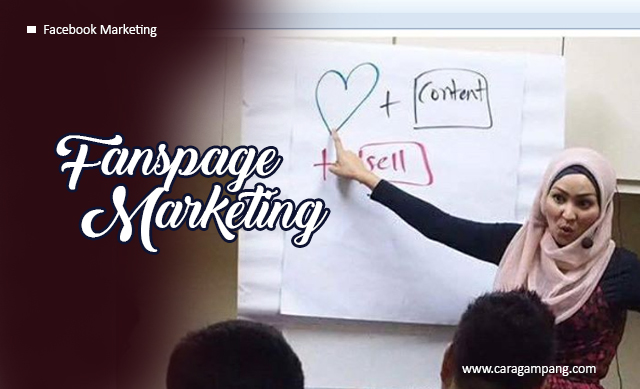 Belajar Fanspage Marketing