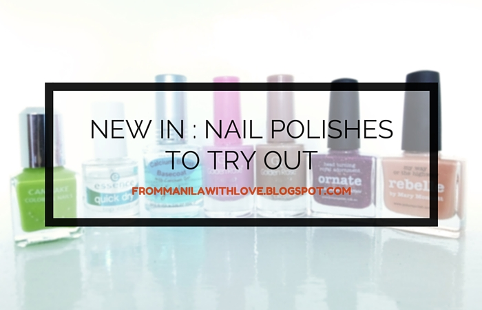 nail polishes to try 1