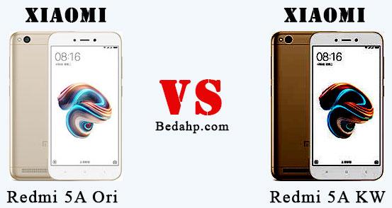 Cara Membedakan Xiaomi Redmi 5A asli dan palsu