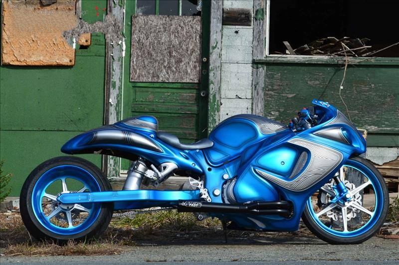 Custom Suzuki Hayabusa Motorcycles