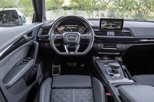 Novo Audi Q5 2017 - Brasil - interior
